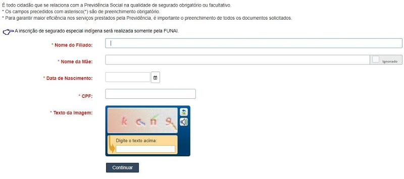 Consulta Dataprev CNIS