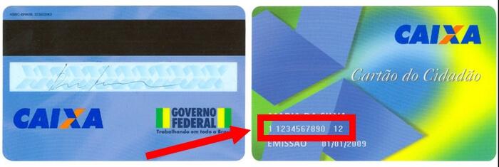 PIS no cartão cidadão